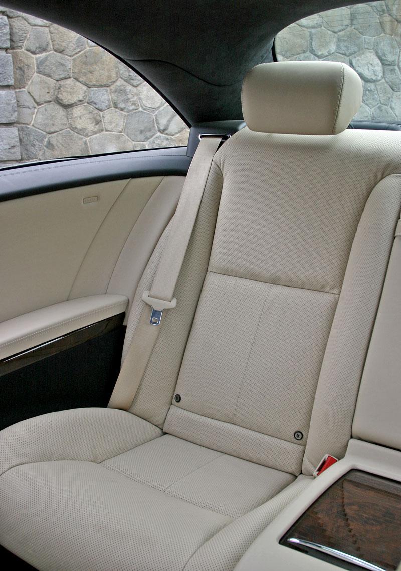 Mercedes-Benz CL 500 4Matic: staré dobré časy: - fotka 9