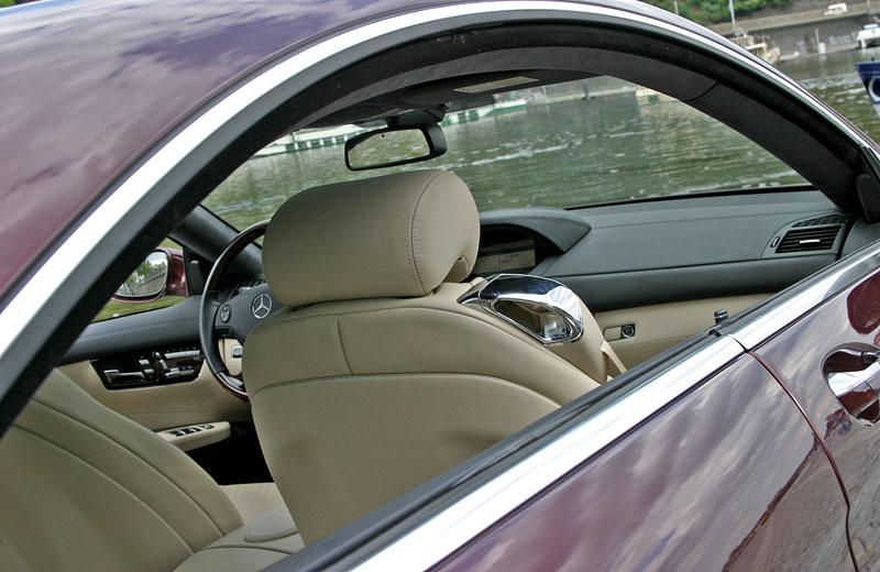 Mercedes-Benz CL 500 4Matic: staré dobré časy: - fotka 10