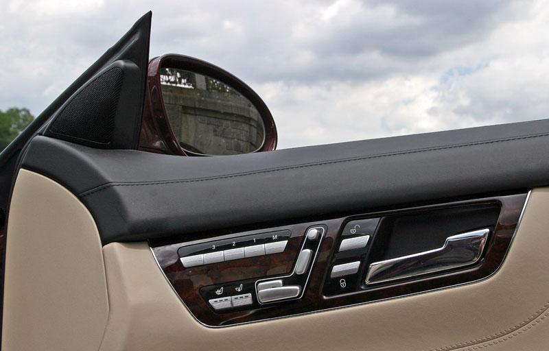 Mercedes-Benz CL 500 4Matic: staré dobré časy: - fotka 11