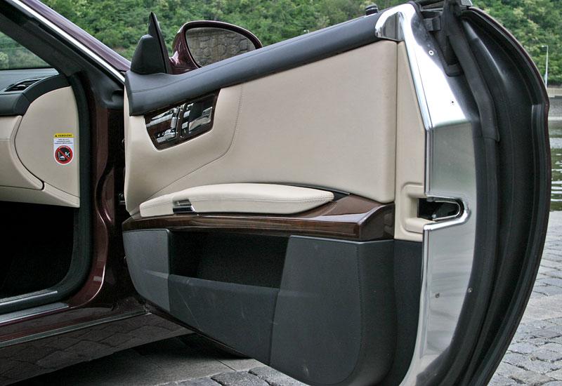 Mercedes-Benz CL 500 4Matic: staré dobré časy: - fotka 12