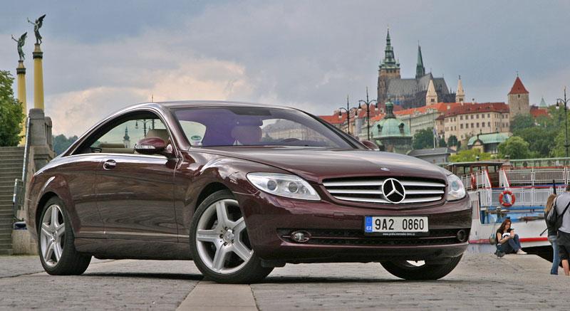 Mercedes-Benz CL 500 4Matic: staré dobré časy: - fotka 13