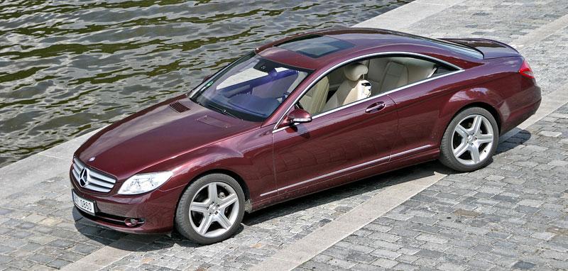 Mercedes-Benz CL 500 4Matic: staré dobré časy: - fotka 14