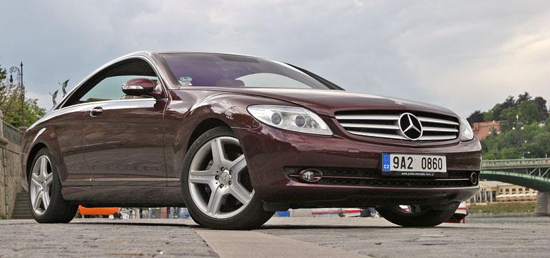Mercedes-Benz CL 500 4Matic: staré dobré časy: - fotka 15