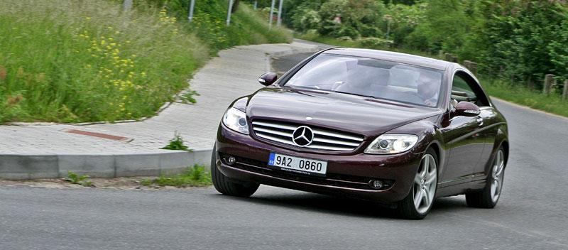 Mercedes-Benz CL 500 4Matic: staré dobré časy: - fotka 17
