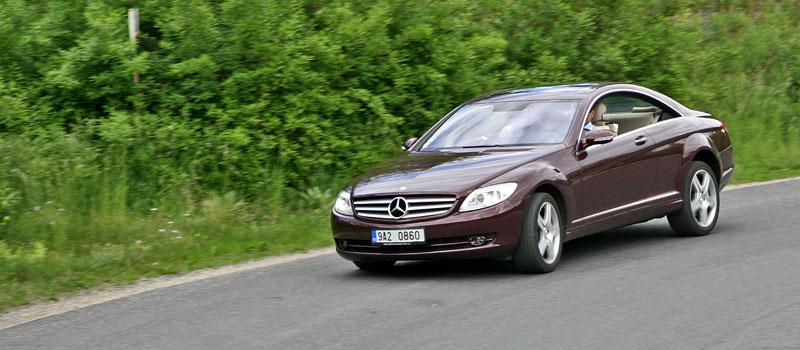 Mercedes-Benz CL 500 4Matic: staré dobré časy: - fotka 18