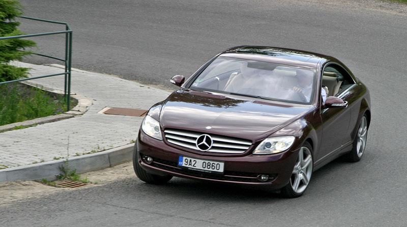 Mercedes-Benz CL 500 4Matic: staré dobré časy: - fotka 19