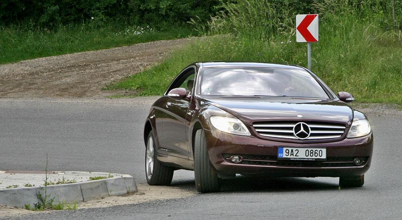 Mercedes-Benz CL 500 4Matic: staré dobré časy: - fotka 21