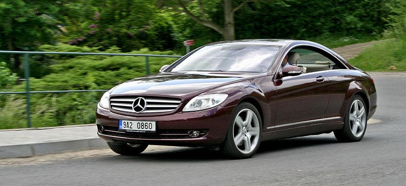Mercedes-Benz CL 500 4Matic: staré dobré časy: - fotka 22