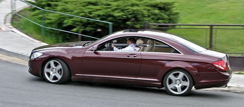 Mercedes-Benz CL 500 4Matic: staré dobré časy: - fotka 23
