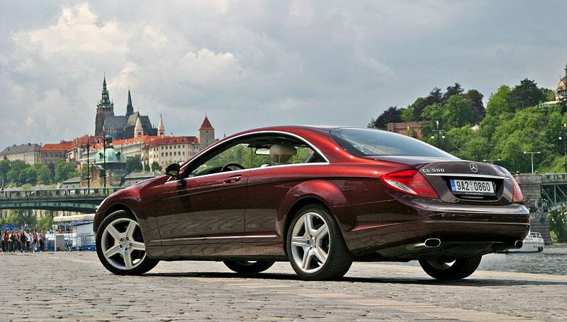 Mercedes-Benz CL 500 4Matic: staré dobré časy: - fotka 24