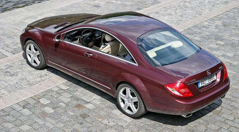 Mercedes-Benz CL 500 4Matic: staré dobré časy: - fotka 25