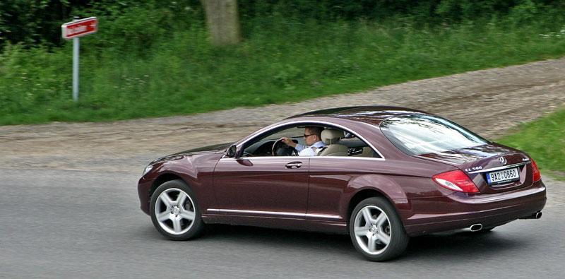 Mercedes-Benz CL 500 4Matic: staré dobré časy: - fotka 27