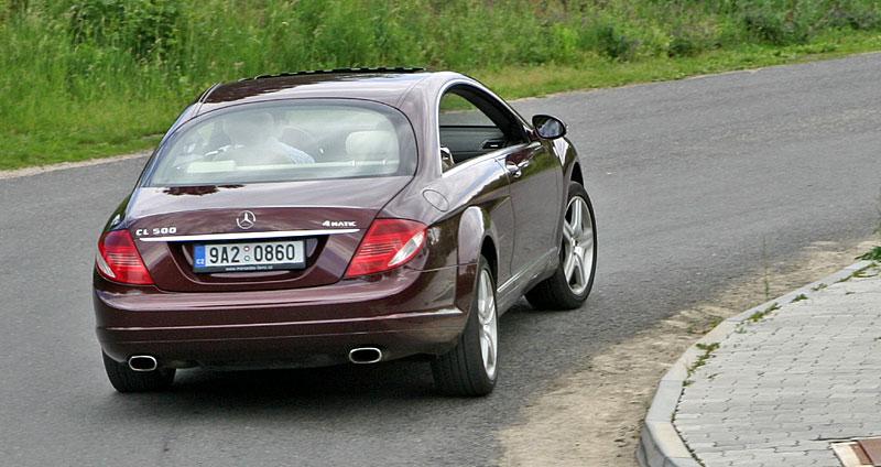 Mercedes-Benz CL 500 4Matic: staré dobré časy: - fotka 28