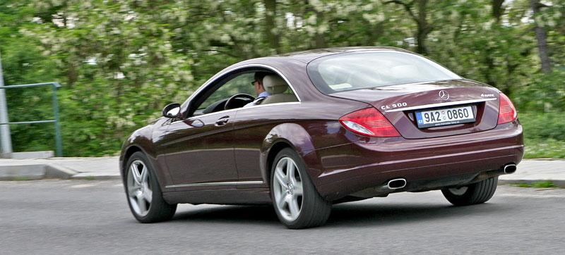 Mercedes-Benz CL 500 4Matic: staré dobré časy: - fotka 29