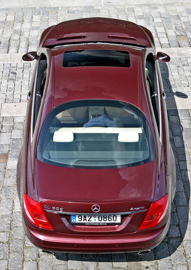 Mercedes-Benz CL 500 4Matic: staré dobré časy: - fotka 30