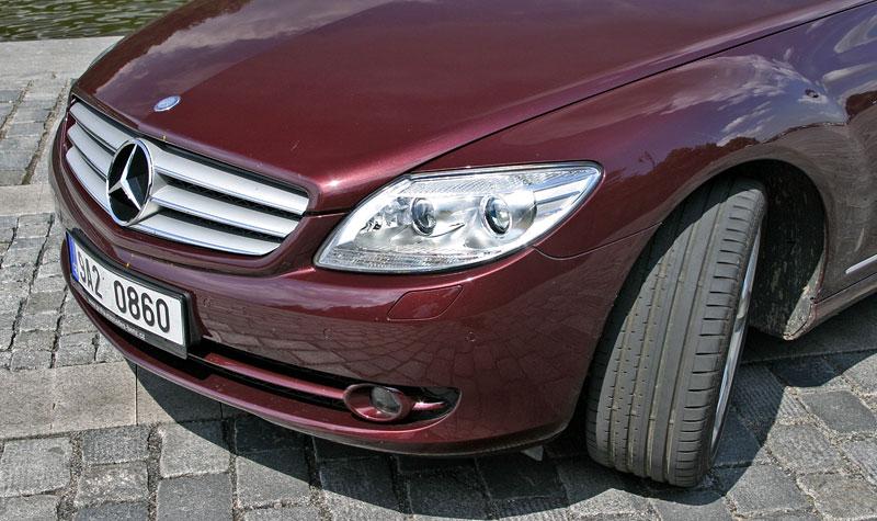 Mercedes-Benz CL 500 4Matic: staré dobré časy: - fotka 33