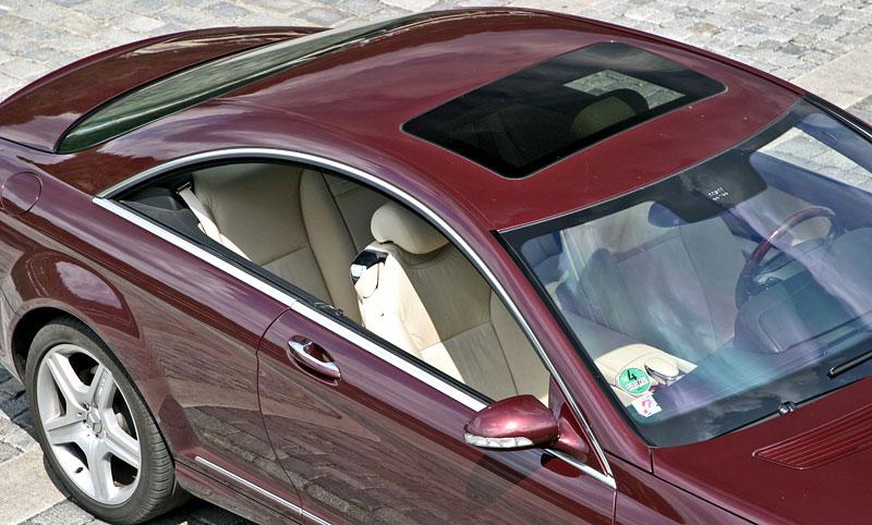 Mercedes-Benz CL 500 4Matic: staré dobré časy: - fotka 34