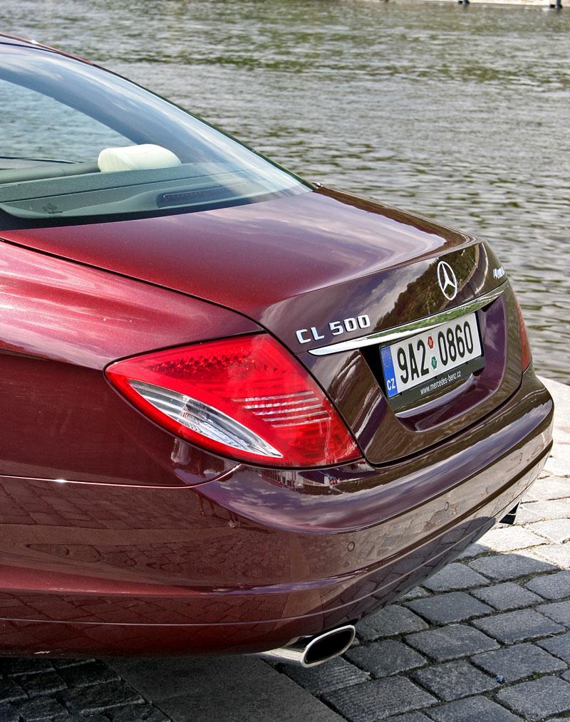 Mercedes-Benz CL 500 4Matic: staré dobré časy: - fotka 36