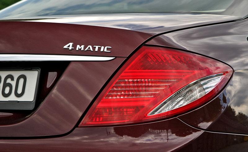 Mercedes-Benz CL 500 4Matic: staré dobré časy: - fotka 37