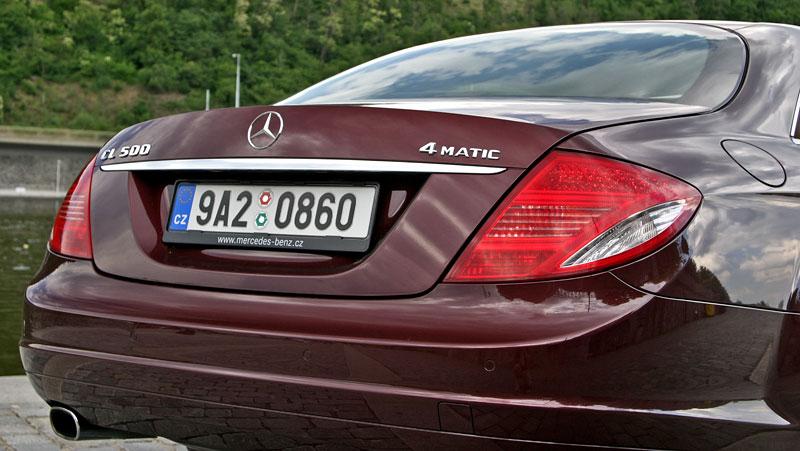 Mercedes-Benz CL 500 4Matic: staré dobré časy: - fotka 38
