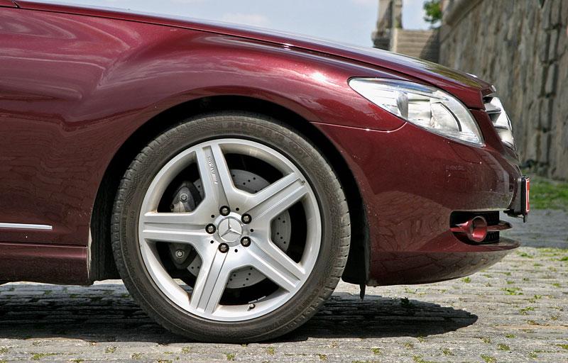 Mercedes-Benz CL 500 4Matic: staré dobré časy: - fotka 39