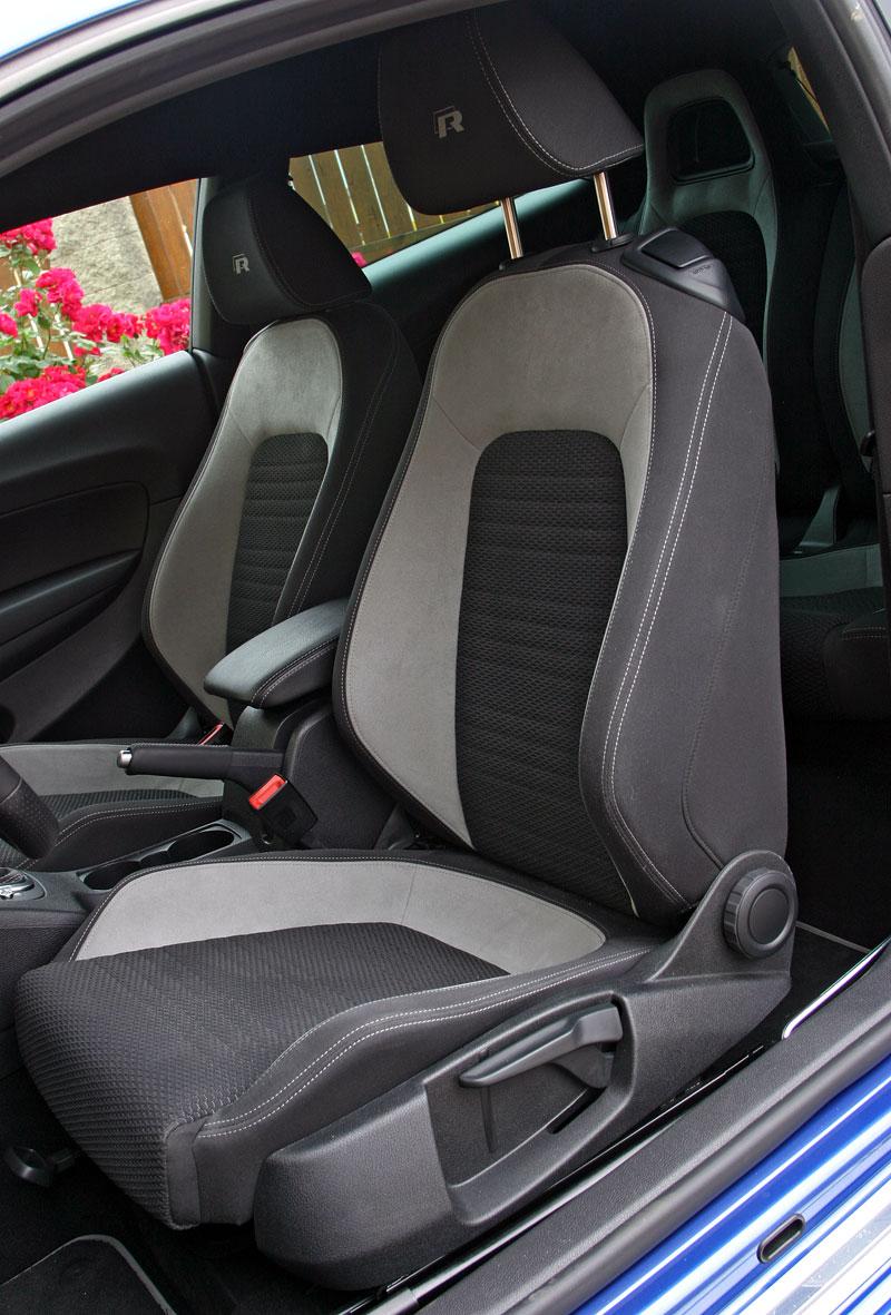 Test: Volkswagen Scirocco R – královské eR?: - fotka 16