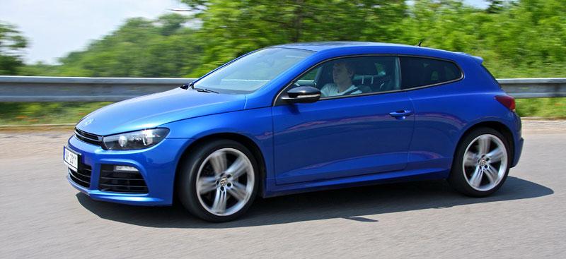 Test: Volkswagen Scirocco R – královské eR?: - fotka 30
