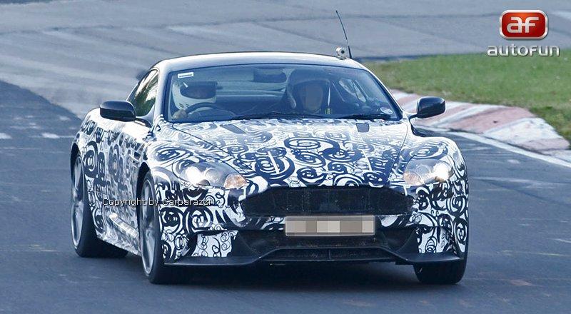 Spy Photos: facelift pro Aston Martin DBS: - fotka 1