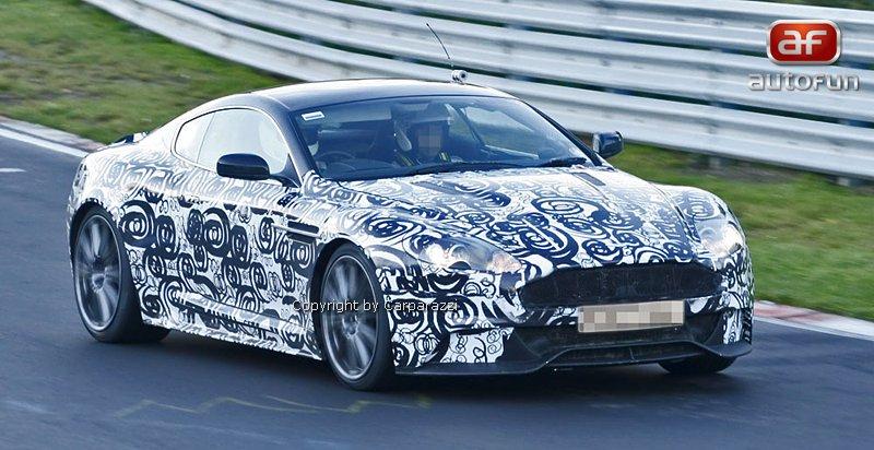 Spy Photos: facelift pro Aston Martin DBS: - fotka 2