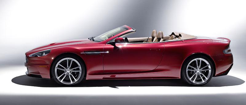 Autosalon Ženeva: Aston Martin DBS Volante: - fotka 6