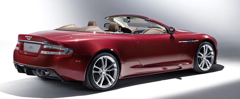 Autosalon Ženeva: Aston Martin DBS Volante: - fotka 7