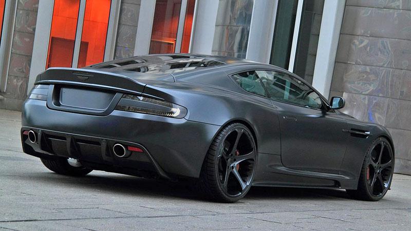 Anderson Casino Royale - vymazlený Aston Martin DBS: - fotka 5