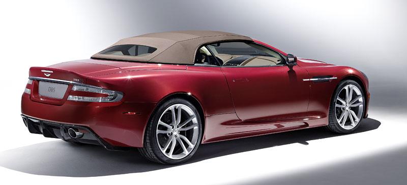 Autosalon Ženeva: Aston Martin DBS Volante: - fotka 8