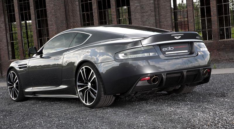 Edo competition: Aston Martin DB9 přetvořen na DBS: - fotka 24
