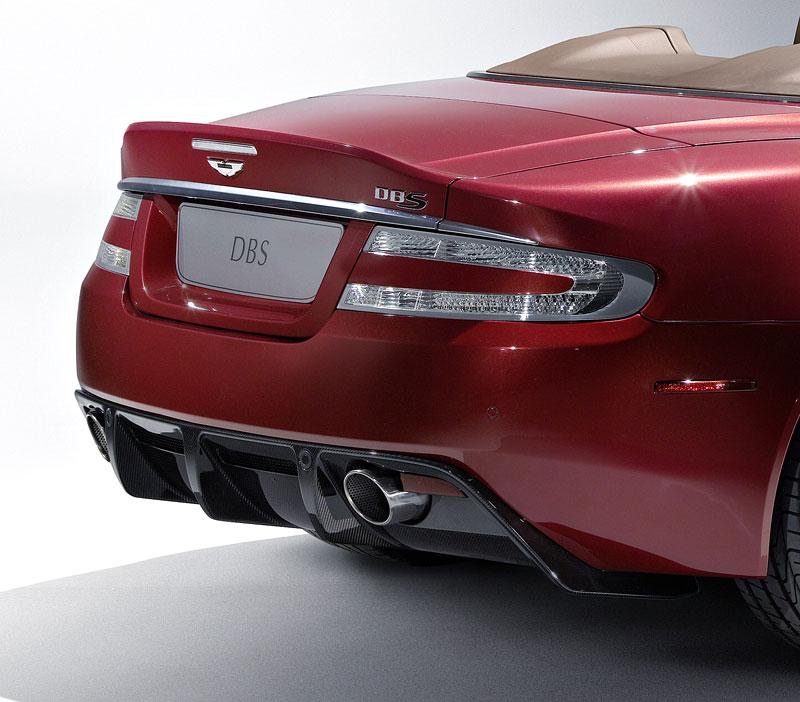 Autosalon Ženeva: Aston Martin DBS Volante: - fotka 10
