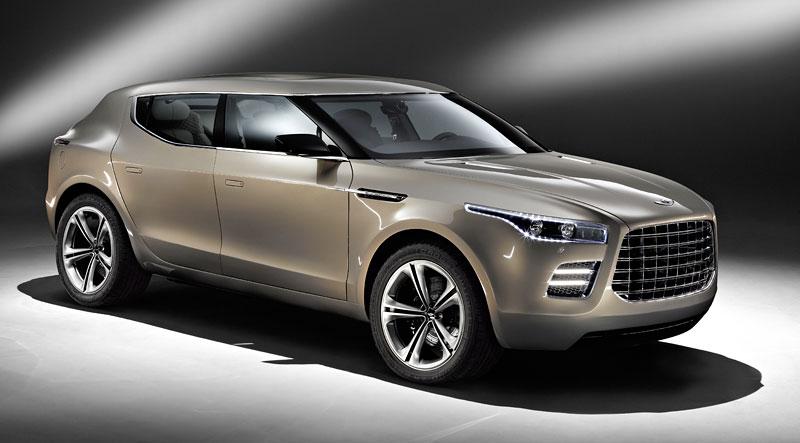 Aston Martin (díkybohu) zahodil projekt Lagonda: - fotka 7