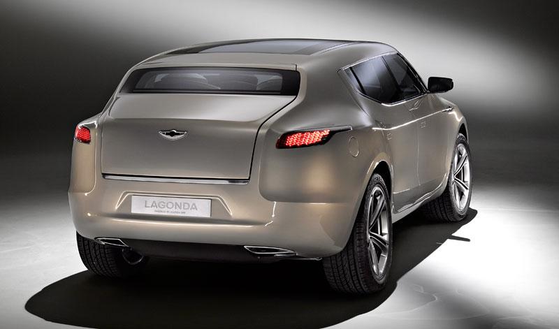 Aston Martin (díkybohu) zahodil projekt Lagonda: - fotka 8