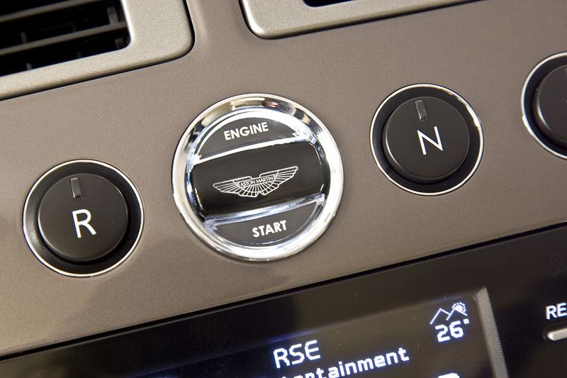 Aston Martin Rapide: Nové fotografie: - fotka 1