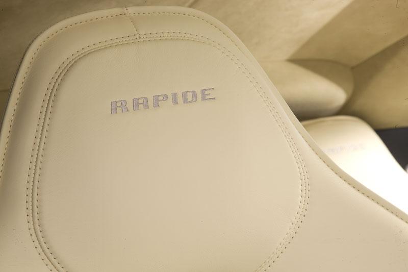 Aston Martin Rapide: Nové fotografie: - fotka 8