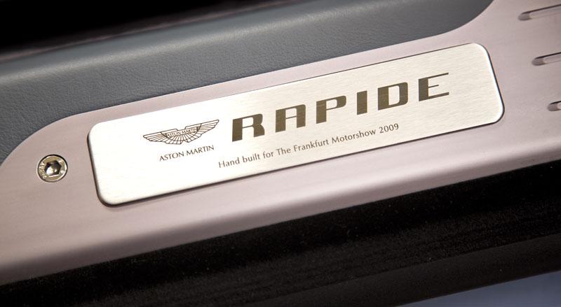 Aston Martin Rapide: Nové fotografie: - fotka 9