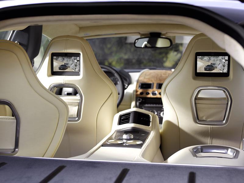 Frankfurt 2009 živě: Aston Martin Rapide - první dojmy: - fotka 22