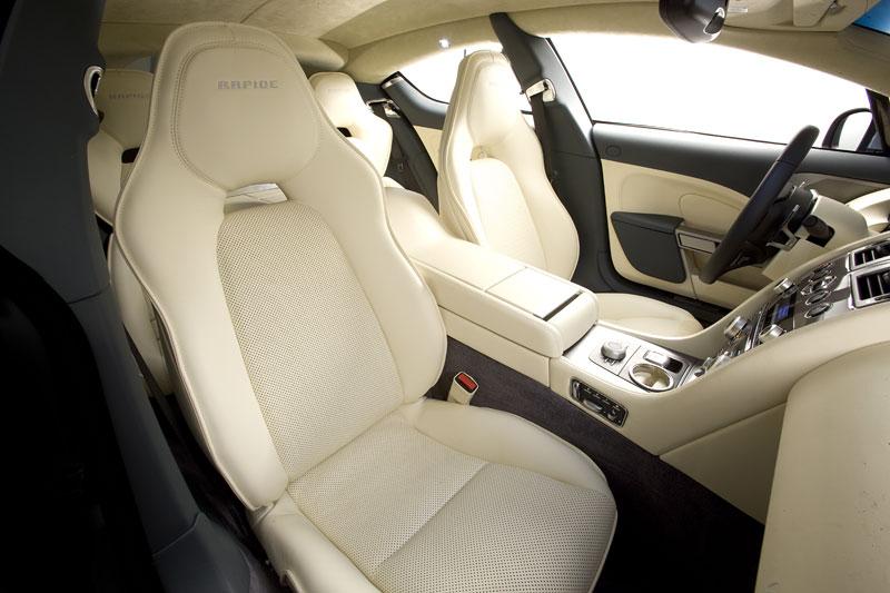 Aston Martin Rapide: Nové fotografie: - fotka 18