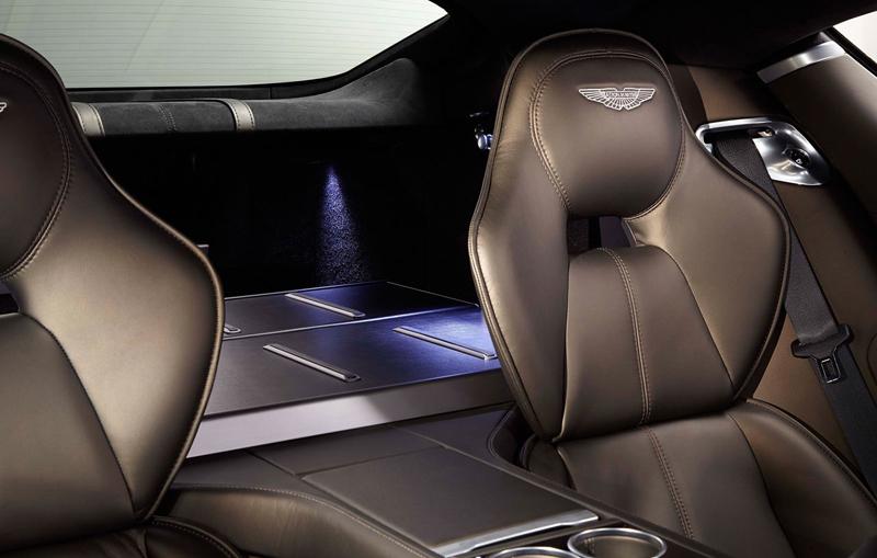 Aston Martin Vanquish a Rapide S s individualizací od Q: - fotka 5