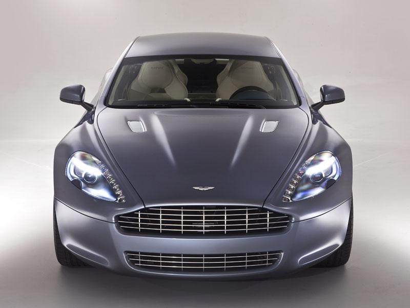 Aston Martin Rapide: Nové fotografie: - fotka 21