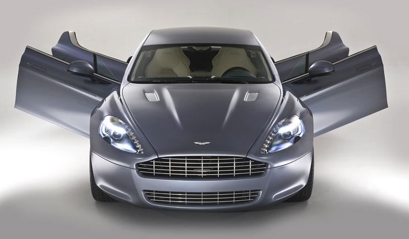 Aston Martin Rapide: Nové fotografie: - fotka 22