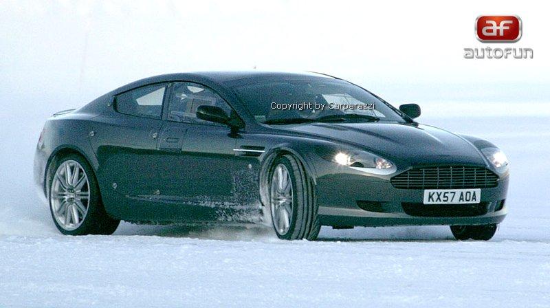 Spy Photos: Aston Martin Rapide: - fotka 2