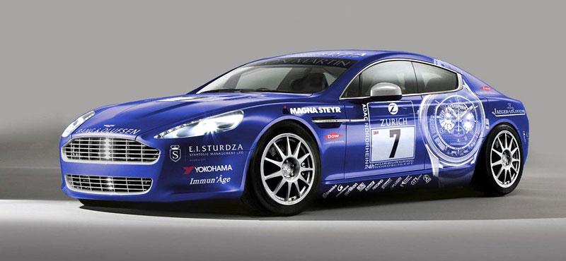 Aston Martin Rapide: ostré nasazení do 24hodin Nürburgringu: - fotka 2