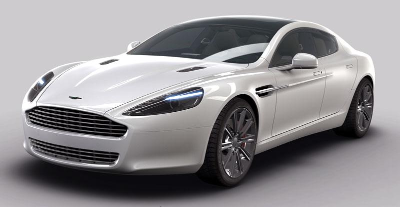 Aston Martin Rapide: další foto a základní informace: - fotka 2