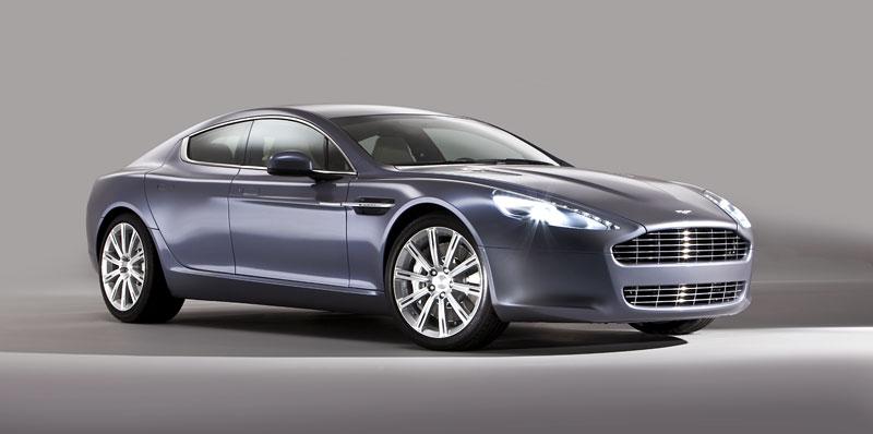 Aston Martin Rapide: Nové fotografie: - fotka 25