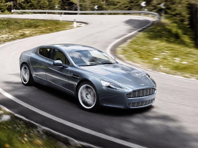Frankfurt 2009 živě: Aston Martin Rapide - první dojmy: - fotka 25